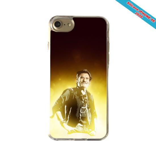 Coque silicone Iphone X/XS Fan de Porsche géometrics
