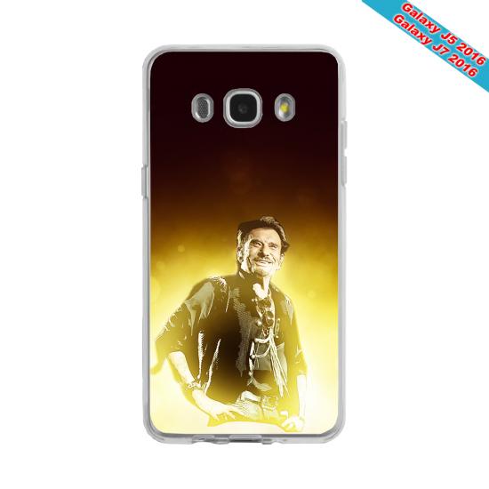 Coque silicone Galaxy J4 2018 Fan de Porsche géometrics