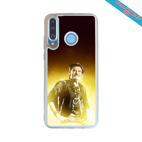 Coque silicone Huawei P20 LITE 2019 Fan de Porsche géometrics
