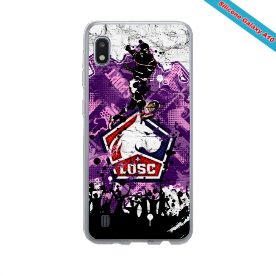 Coque silicone Iphone 8 Fan...