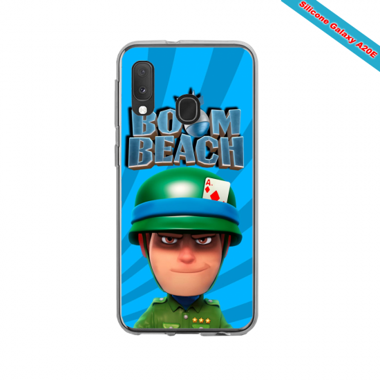 Coque silicone Iphone 8 Fan de Ducati Corse version Graffiti