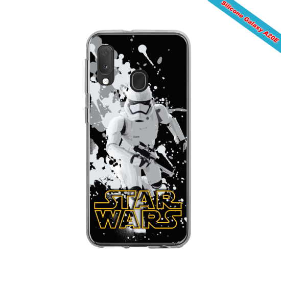 Coque silicone Iphone X Hipster coupe fun
