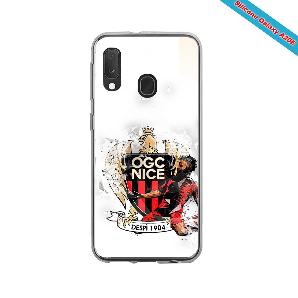 Coque silicone Iphone X KTM version galaxy